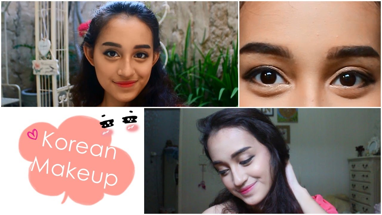 Korean Style Makeup Puppy Eye Look Tutorial Youtube