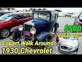1930 Chevrolet, Cheap Jag, Copart Walk Around