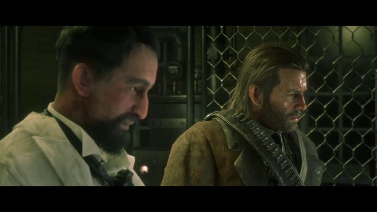 Red Dead Redemption 2 - Marko Dragic Robot