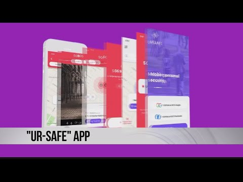 image for UrSafe-A New App To Protect You From Assault