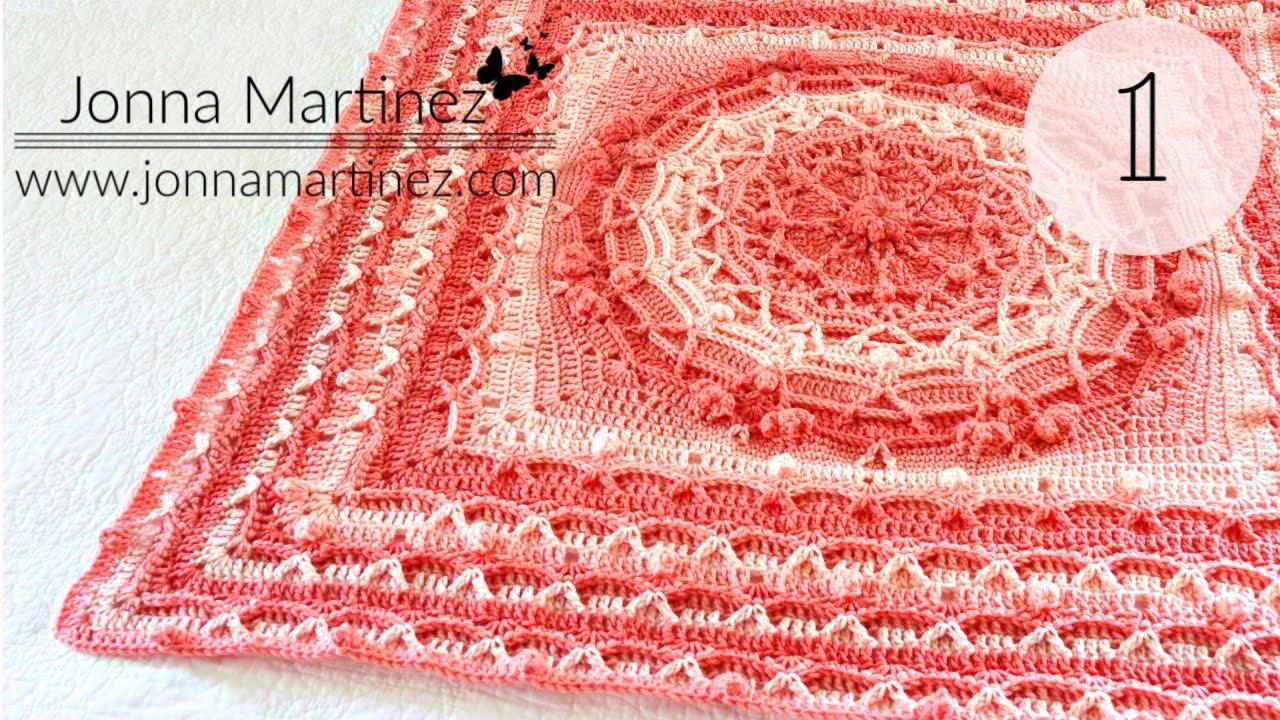 PART 1 | How To Crochet | High Tide Waves Blanket | BebaBlanket |
