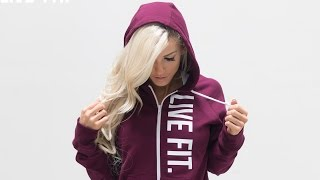 Heidi Somers Premiers The Ladies Zip Up Sweaters.