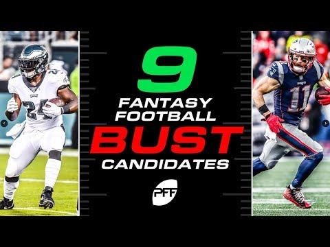 9 fantasy football bust candidates | PFF