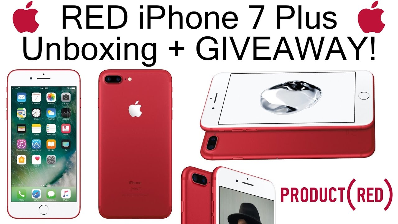 Giveaway iphone 7 plus red release date