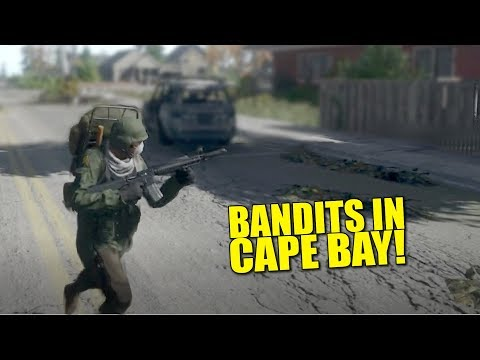 BANDITS IN CAPE BAY! (Survival) - Miscreated