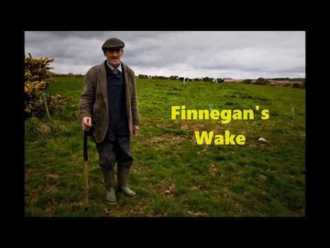 Finnegans wake with lyrics