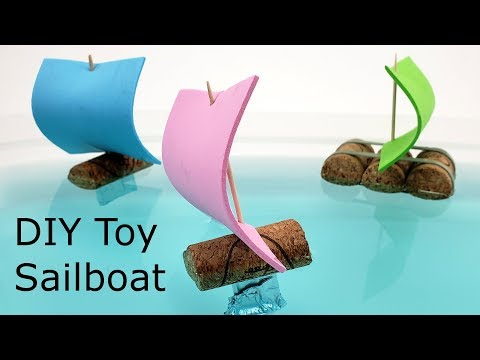 DIY Toy Sailboat