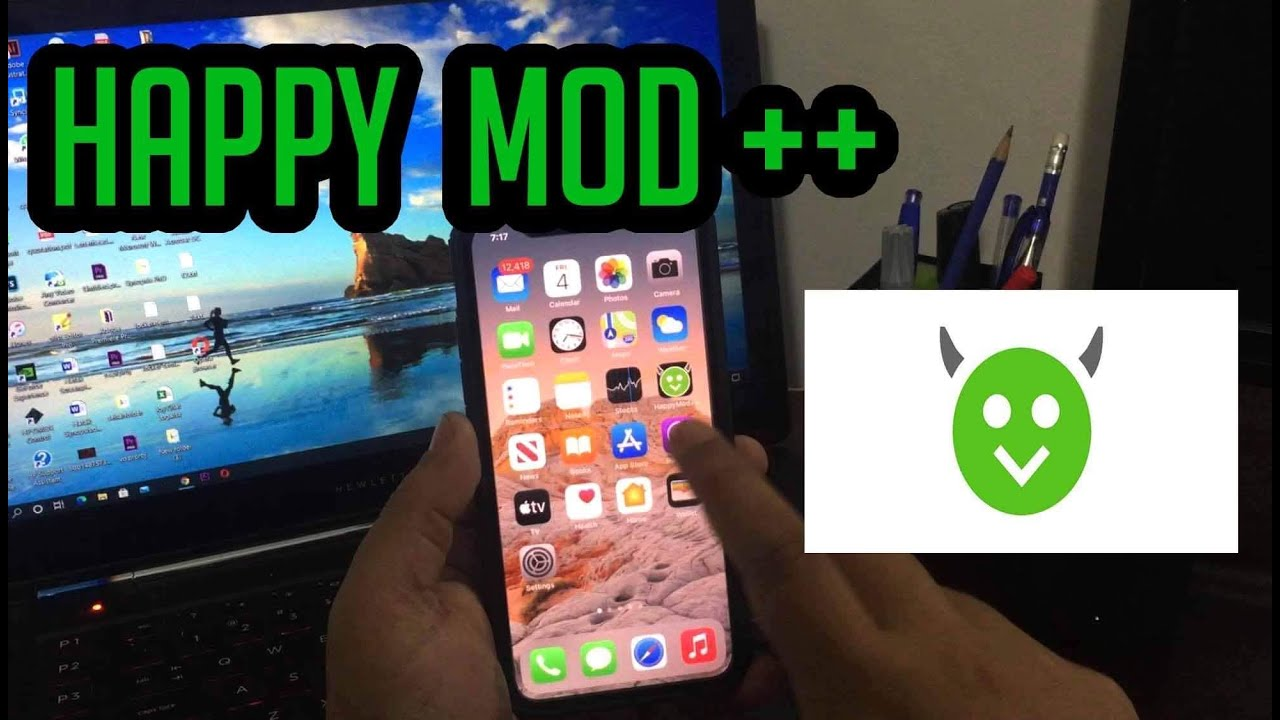 Download HappyMod iOS/Android - How To Download Happy Mod APK iPhone 5
