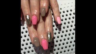 Jarní gelové nehty - postup