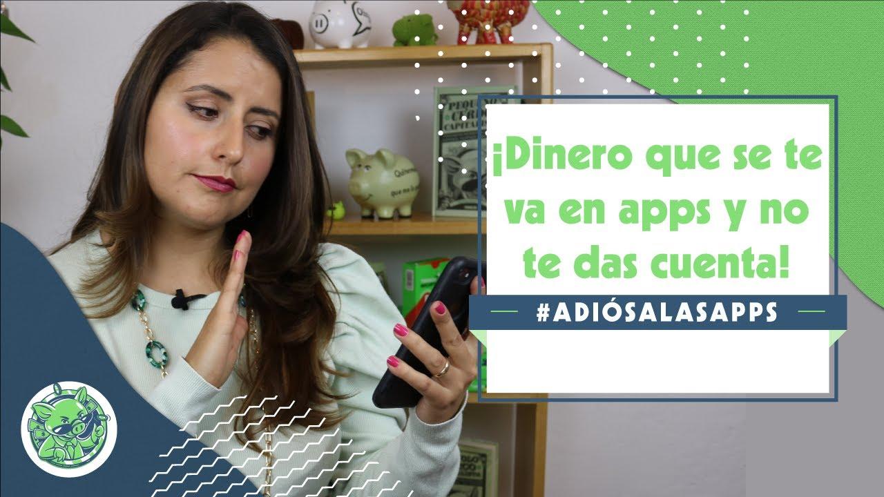 Cómo bajarle a tus gastos en aplicaciones | Reto #AdiósALasApps | Sofía Macías