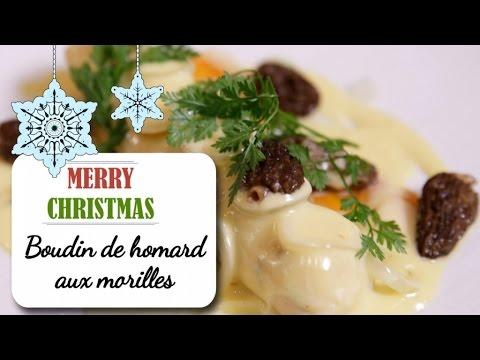 boudin-de-homard-aux-morilles---recette-de-noël