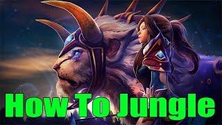 DoTa 2 How To Jungle Mirana Patch 7.22h