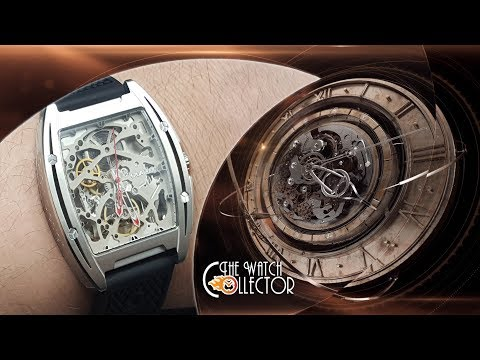 Unboxing Of The CIGA Design Z Series Automatic Mechanical Skeleton Watch | The Watch Collector