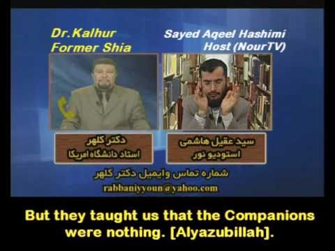 Iranian Shia Professor becomes Sunni [Eng Subs]