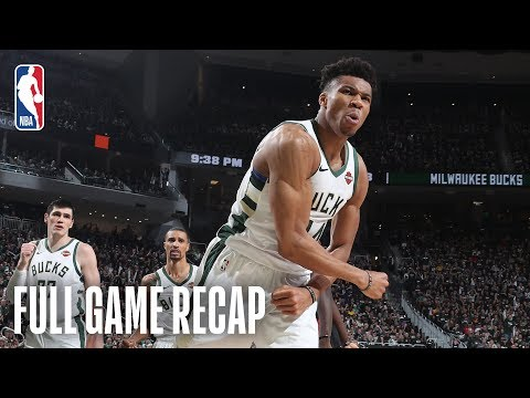 RAPTORS vs BUCKS | Giannis Leads Milwaukee From Start to Finish | Game 2