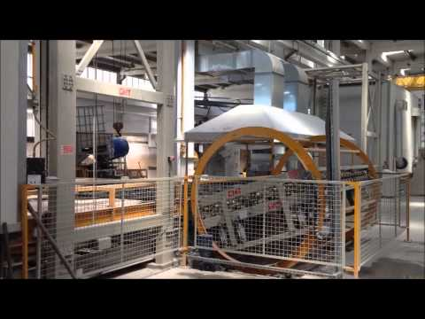 CMT Resin Treatment Restoring Plant for Marble Slabs Epoxy