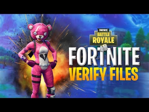 HOW to VERIFY Fortnite Game Files QUICKLY - YouTube