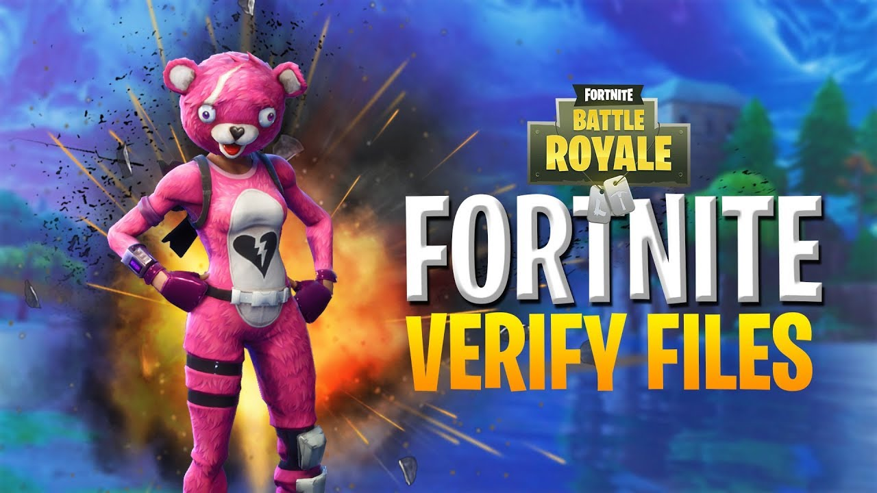 HOW to VERIFY Fortnite Game Files QUICKLY