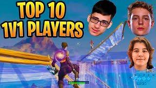TOP 10 Meilleurs joueurs créatifs Fortnite 1v1 (Sway, Clix, Bugha, Dubs, Thwifo)