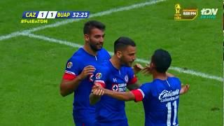 Gol de M. Cauteruccio | Cruz Azul 1 - 1 Lobos BUAP |  Apertura 2018 - Jornada 16 | LIGA Bancomer MX