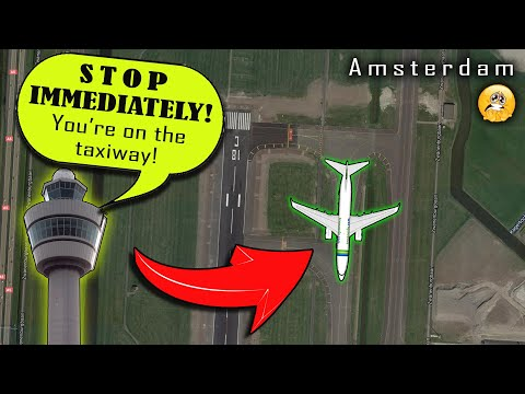 [REAL ATC] Transavia ALMOST TAKES OFF FROM THE TAXIWAY!