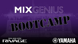 Mix Genius Bootcamp - Todd Wines on the road with RIVAGE Vol  1
