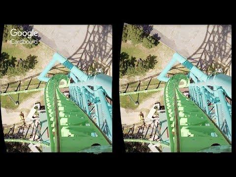 3D Kingda ka | 3D Side by Side SBS VR Active Passive