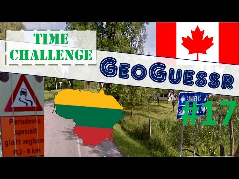 Geoguessr Time Challenge #17 - From Yukon to Lithuania