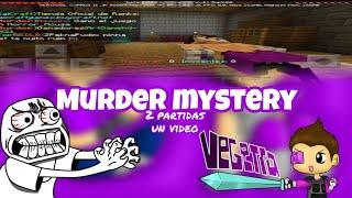 Me encuentro a Vegeta777[Fake] en Murder Mystery y pasa esto|Murder mystery|TheIrvinNoob