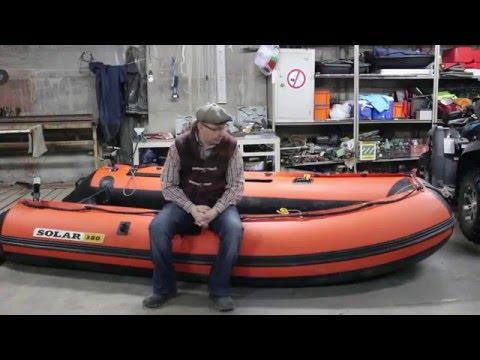 Отзыв о лодке Solar 380