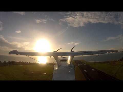 Singular Aircraft. Flight Tests in Sao Tome & Principe Island.