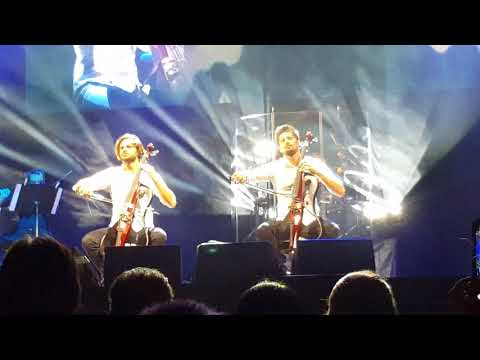 2CELLOS -THE SCORE TOUR  Dec.2017- Game of Thrones - LIVE - Stjepan Hauser