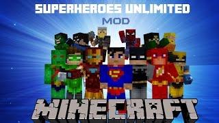 Minecraft Mods Como Baixar e Instalar Liga da Justiça Superheroes Unlimited