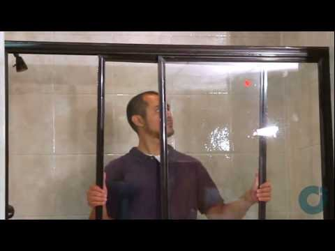 Sliding Shower Doors - Installation of Tub Bypass