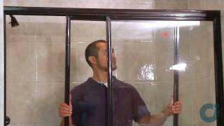 Sliding Shower Doors - Installation of Tub Bypass
