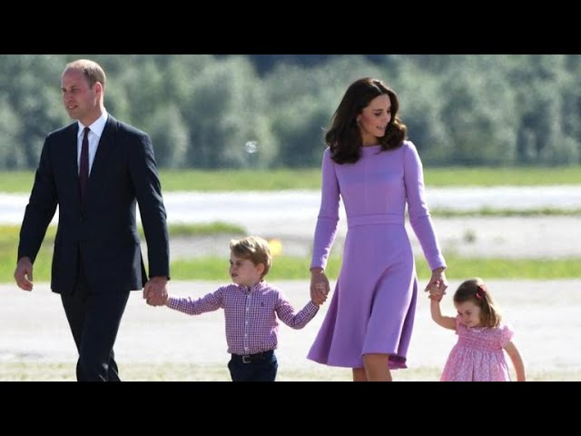 Prince William and Kate welcome third child