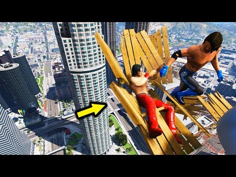 GTA 5 WWE EXTREME MOMENTS COMPILATION #6 (GTA V WWE Mods)