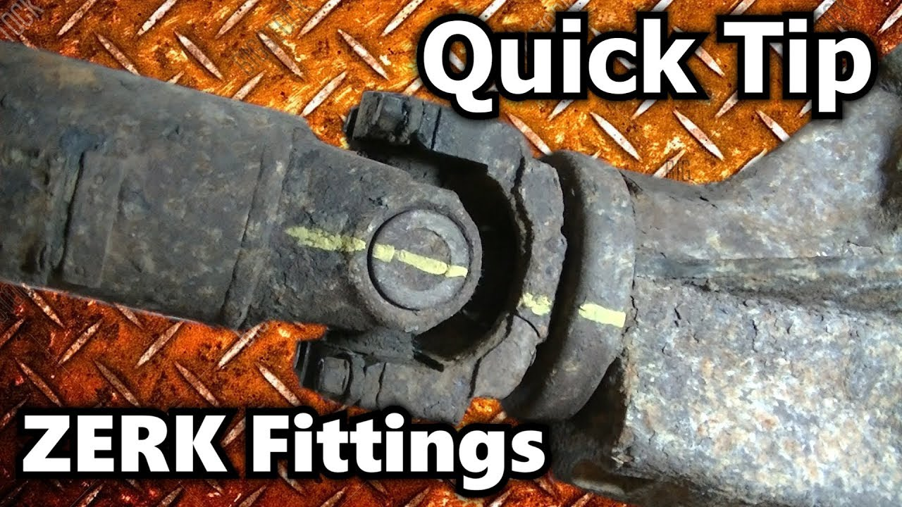 Rear U Joint Grease Zerk Fitting Position Quick Tip Youtube 2004 Gmc Duramax Injector Wiring Diagram Premium