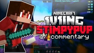 Video 1v1ing StimpyPvP w/ Commentary!?! (THE ULTIMATE SHOWDOWN) (Minecraft) download MP3, 3GP, MP4, WEBM, AVI, FLV Agustus 2018