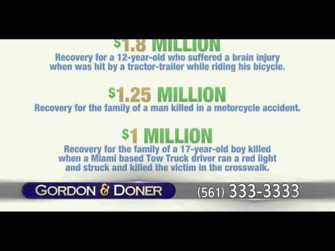 Car Accident Lawyers | Pahokee FL | Gordon & Doner