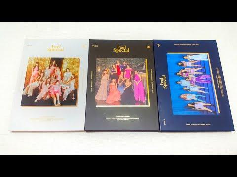 Unboxing TWICE Feel Special The 8th Mini Album 트와이스 8집 미니앨범 언박싱/ 후기