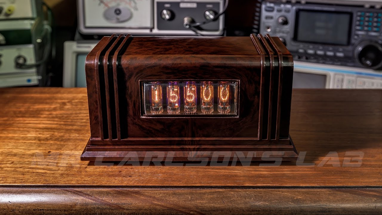 Nixie Tube Digital Display For Receivers