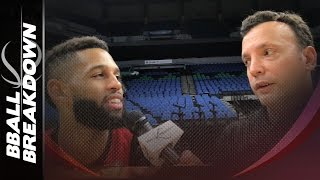 Trail Blazers Guard Allen Crabbe On Shooting