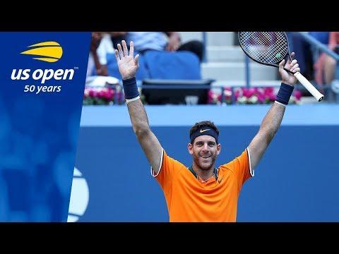 Juan Martin del Potro Advances To Second US Open Final