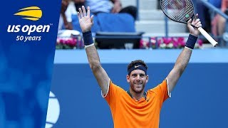 Juan Martin del Potro Advances To Second US Open Final