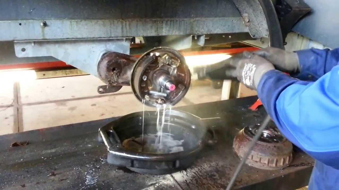 Remtrommels reinigen youtube for Interieur reinigen auto