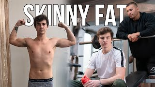 MY BODY TRANSFORMATION - SKINNY FAT TO FIT IN 1 WEEK! #2