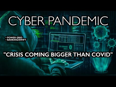 """Next Crisis Bigger than COVID"" - Power Grid/Finance Down - WEF Cyber Polygon"