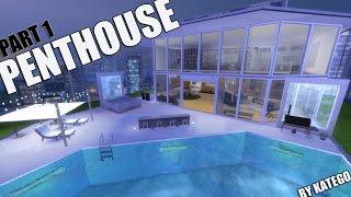 the Sims 4: Строительство. Пентхаус, часть 1