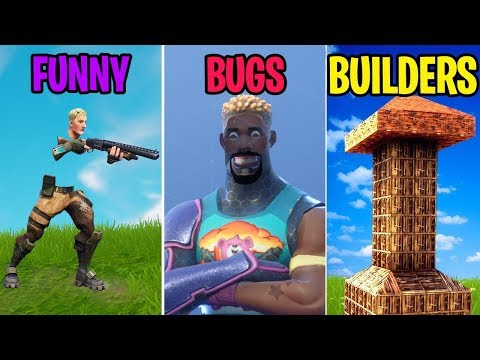 *FUNNIEST* Bugs of 2018! FUNNY vs BUGS vs BUILDERS! Fortnite Funny Moments